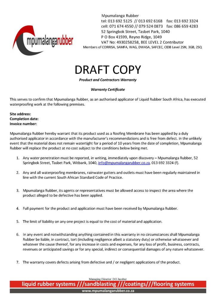 Mpumalanga Rubber - Draft Warranty_Page_1