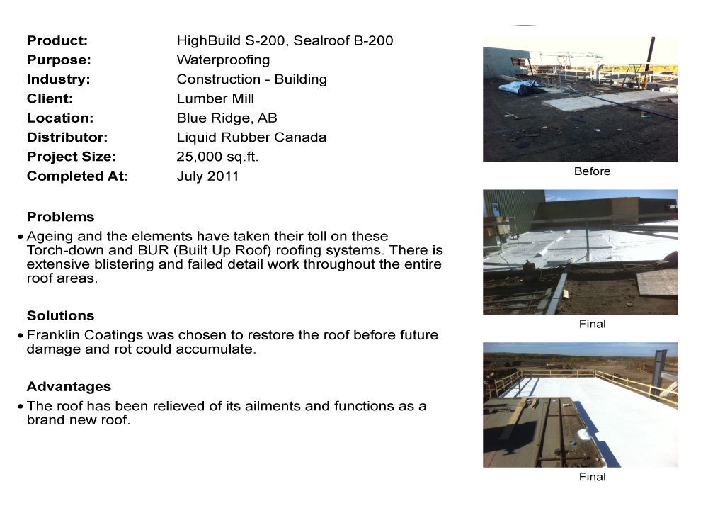 Case Study - Montreal Metal Roof