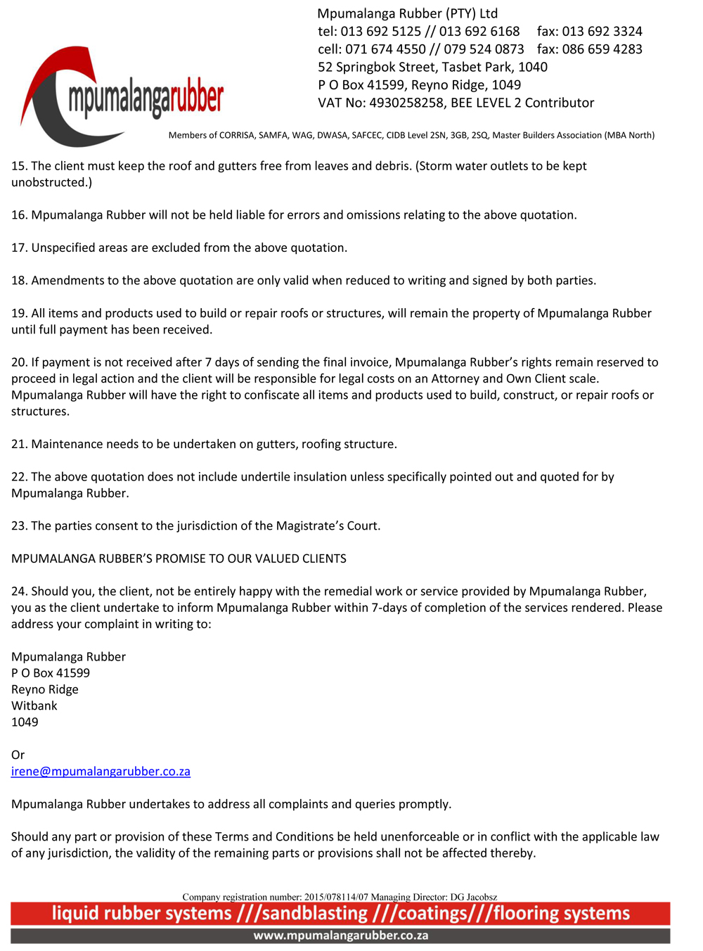 Mpumalanga Rubber - Terms and conditions-July2017-2