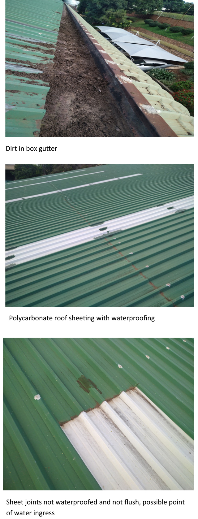 Roof Repair and Waterproofing Assessment – A Case Study